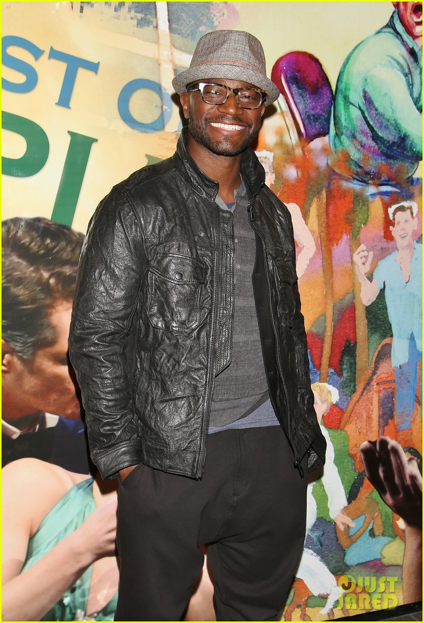 taye diggs supports oldest boys broadway opening night 023234605