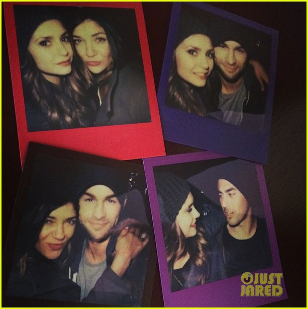 How is nina dobrev dating chace