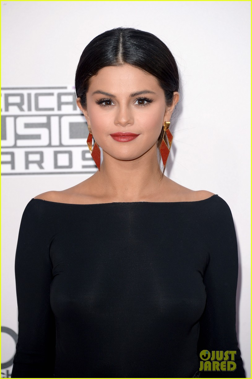 selena gomez american music awards 2014 01