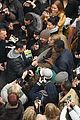 hugh jackman greets fans after preview performance 09