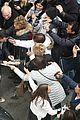 hugh jackman greets fans after preview performance 13