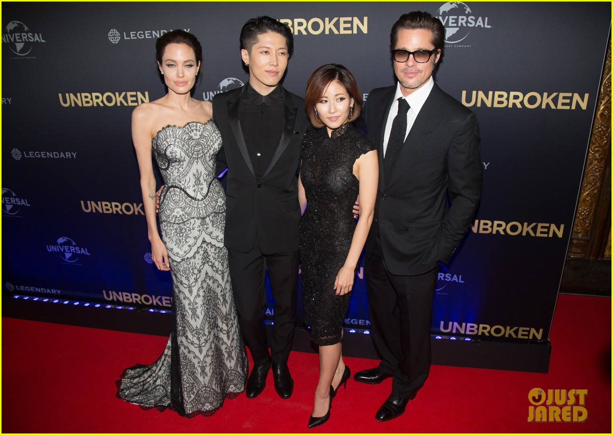 Angelina Jolie Gets Support From Hubby Brad Pitt At Australia