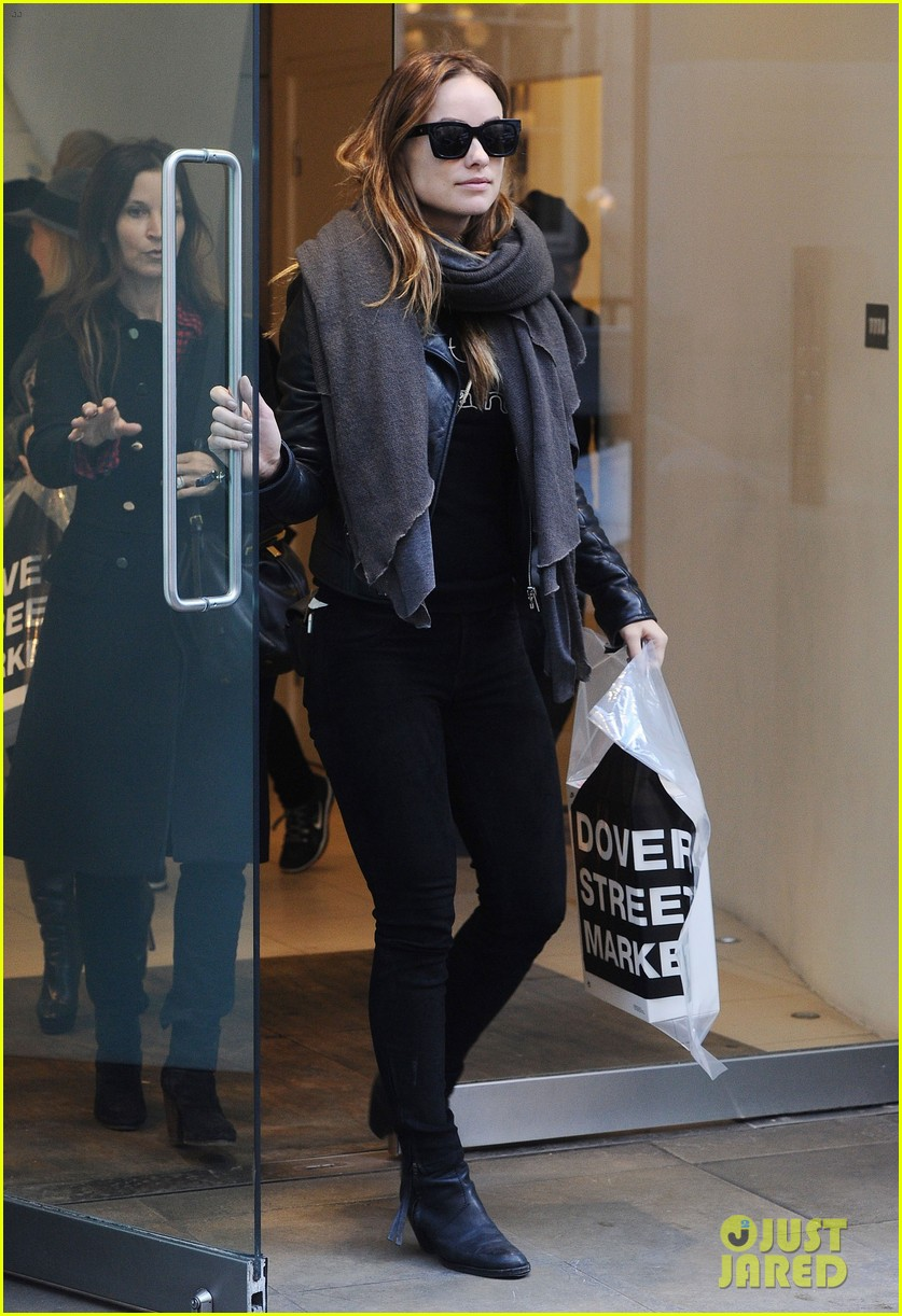 justin theroux olivia wilde shopping london horrible bosses 013240686