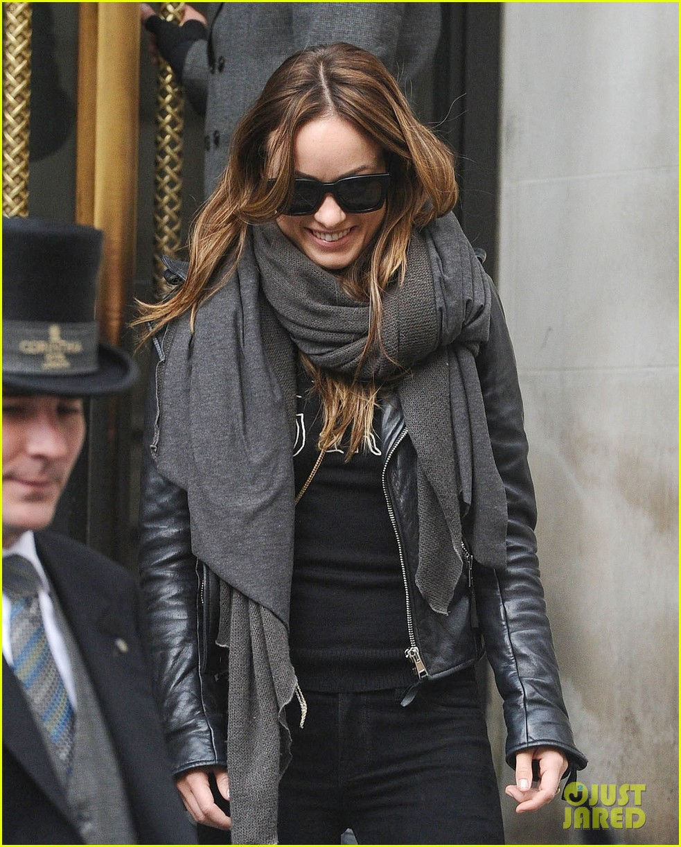 justin theroux olivia wilde shopping london horrible bosses 033240688
