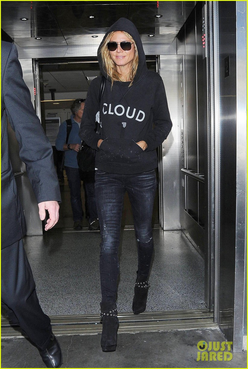 heidi klum cloud sweatshirt lax 023232887