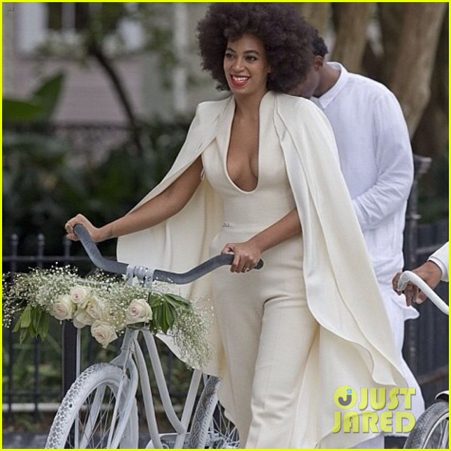 Beyonce at Solange Knowles Wedding