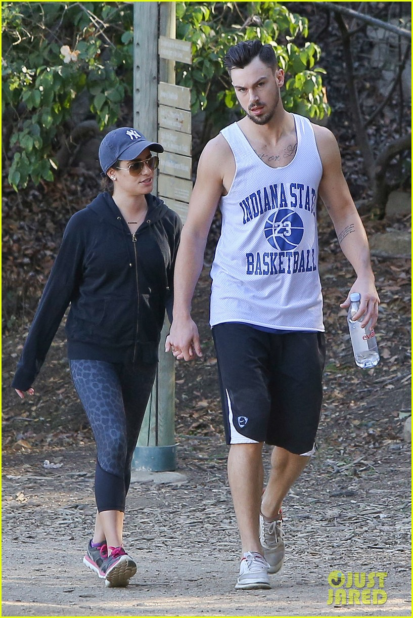 lea michele love is in the air romantic hike with boyfriend matthew paetz 073248327
