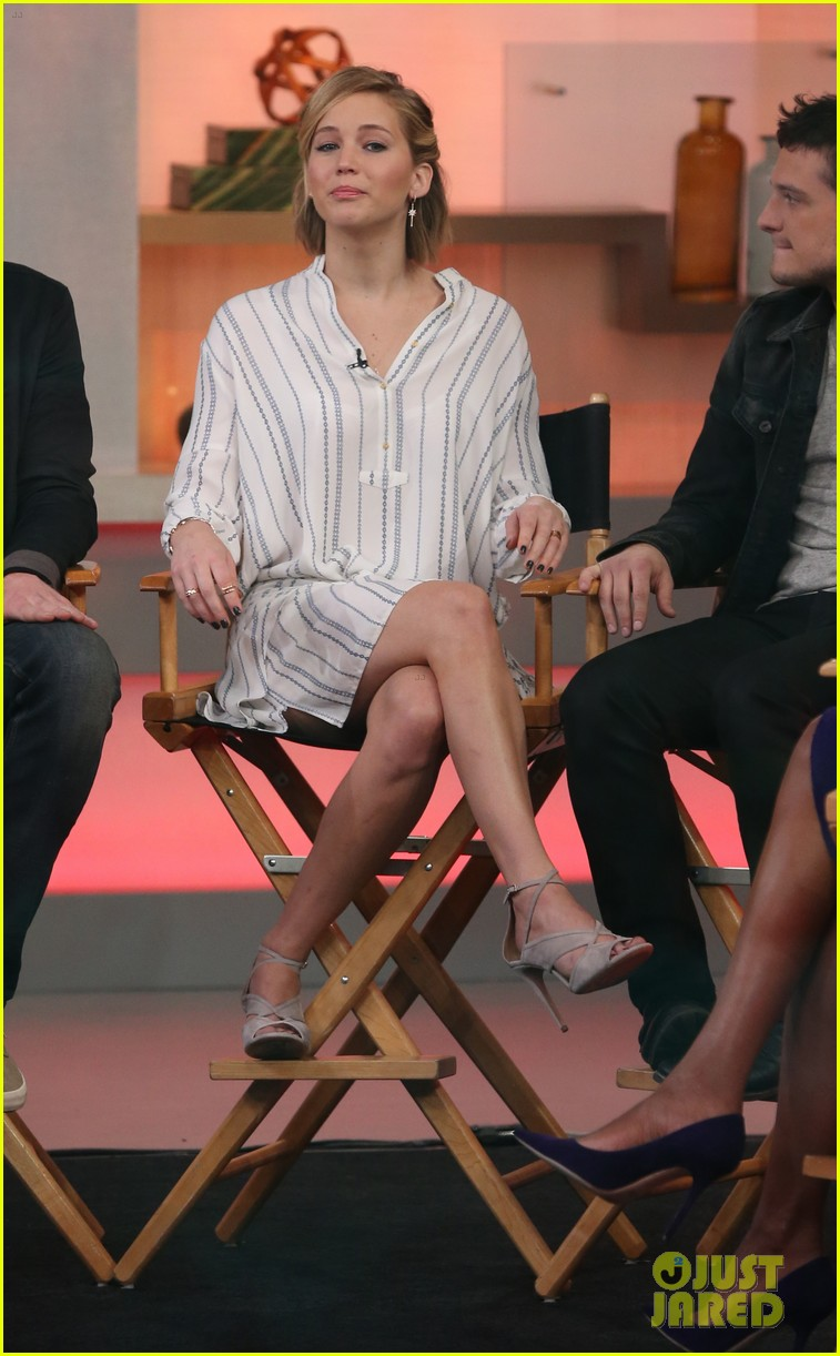 jennifer lawrence liam hemsworth josh hutcherson good morning america 183241600