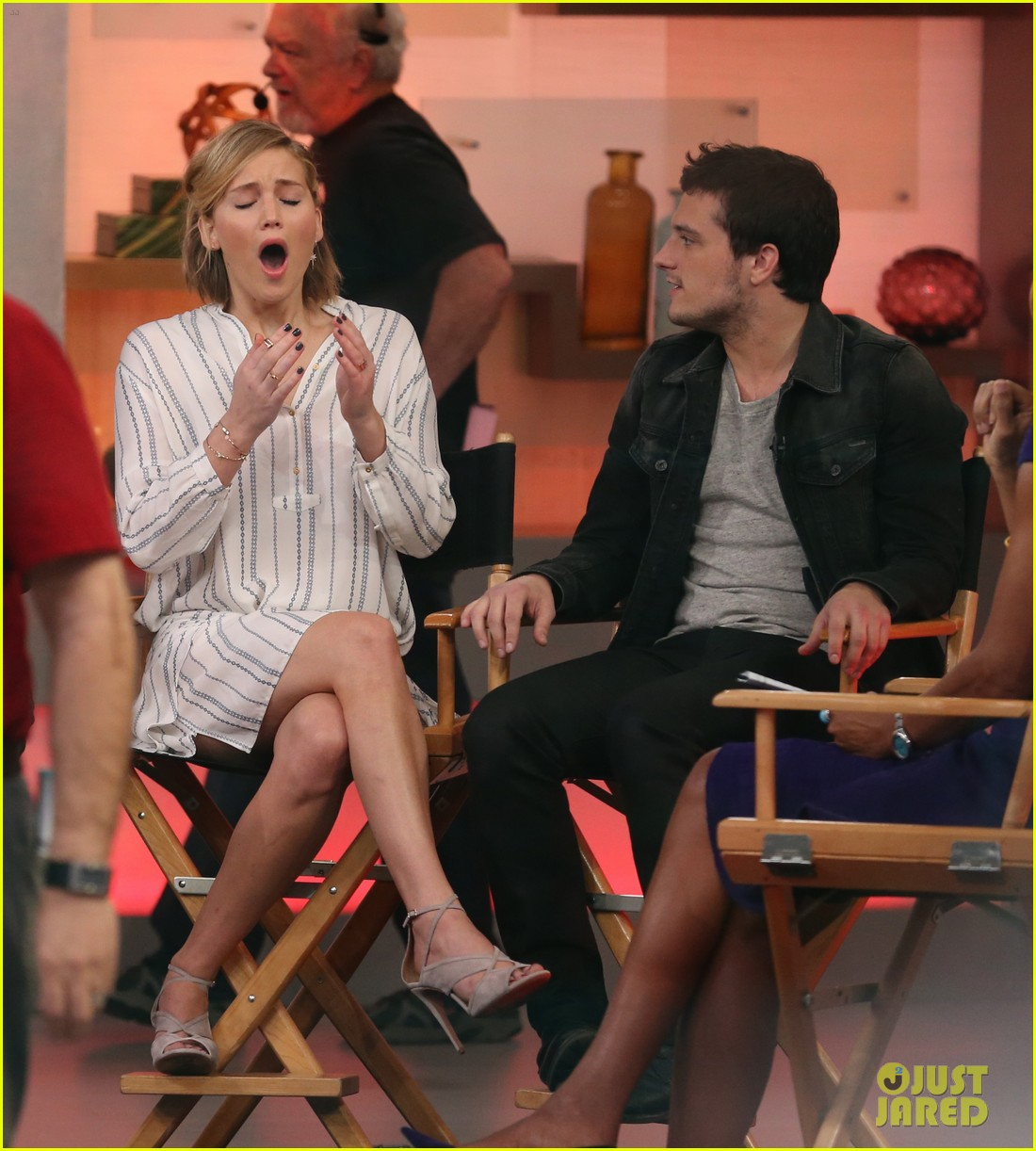 jennifer lawrence liam hemsworth josh hutcherson good morning america 243241606