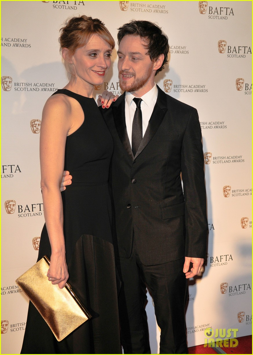 James McAvoy Looks So in Love with His Wife at the British ...