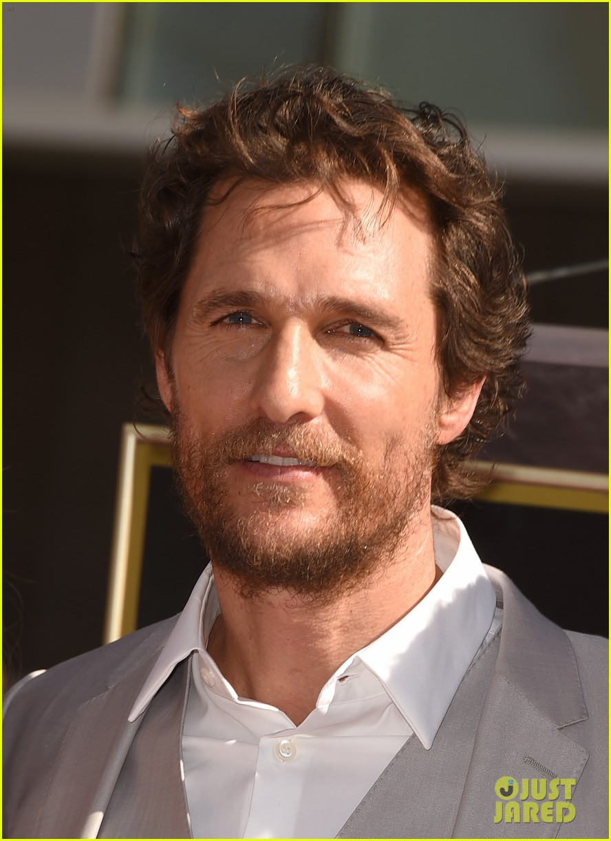 matthew mcconaughey family hollywood walk of fame 023244284