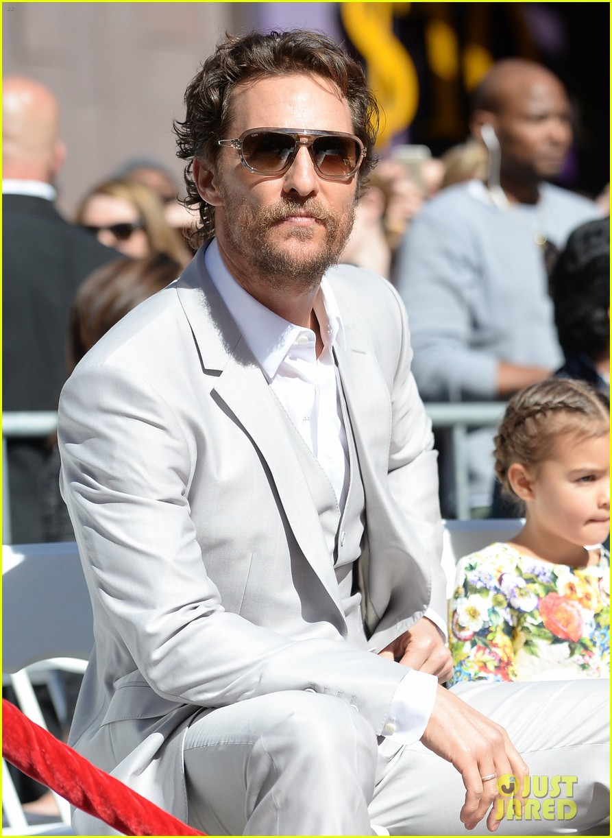 matthew mcconaughey family hollywood walk of fame 113244293