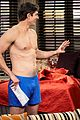 brandon routh goes shirtless the exes 03
