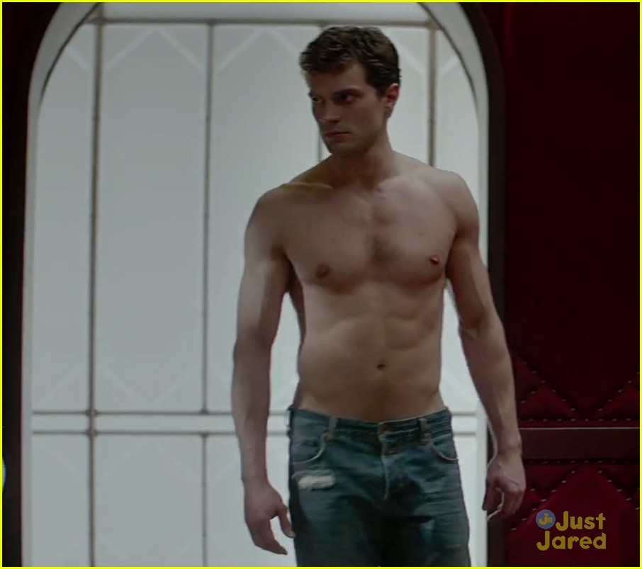 Christian Grey Shows Anastasia Steele His Red Room Of Pain