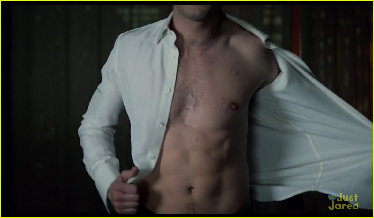 Christian Grey Shows Anastasia Steele His Red Room Of Pain In New Fifty Shades Of Grey Trailer Watch Now Photo 3241990 Dakota Johnson Fifty Shades Of Grey Jamie Dornan Pictures Just Jared