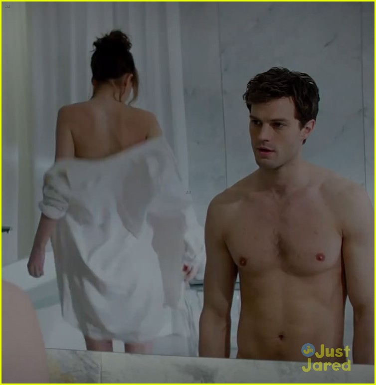 Christian Grey Shows Anastasia Steele His Red Room Of Pain In New Fifty Shades Of Grey Trailer Watch Now Photo 3241995 Dakota Johnson Fifty Shades Of Grey Jamie Dornan Pictures Just Jared