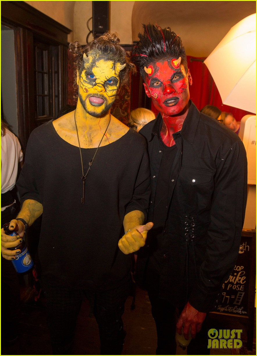 the vamps the wanted tokio hotel just jared halloween party 013233412