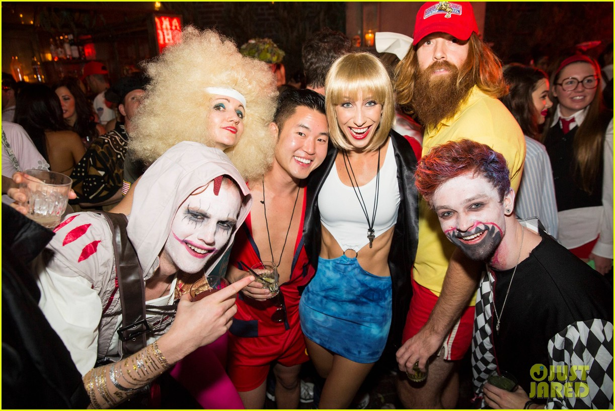 the vamps the wanted tokio hotel just jared halloween party 113233420