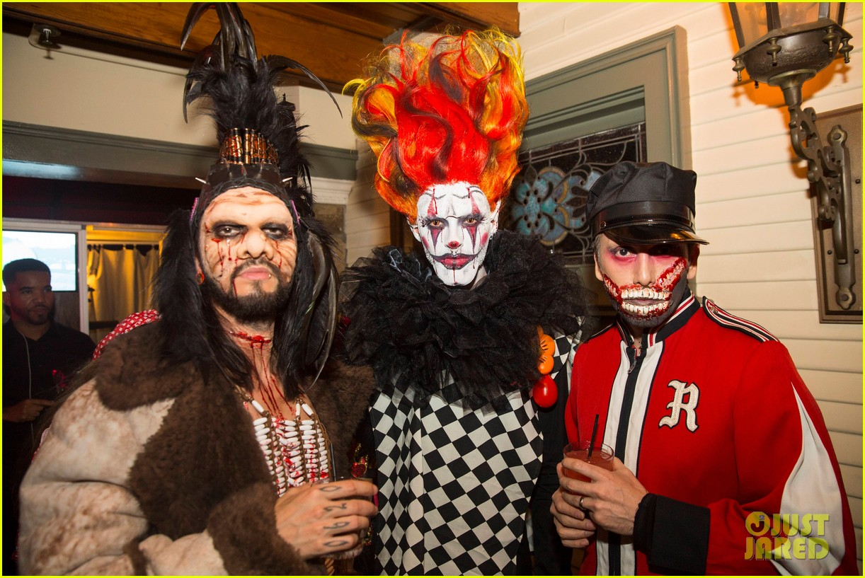 the vamps the wanted tokio hotel just jared halloween party 143233423