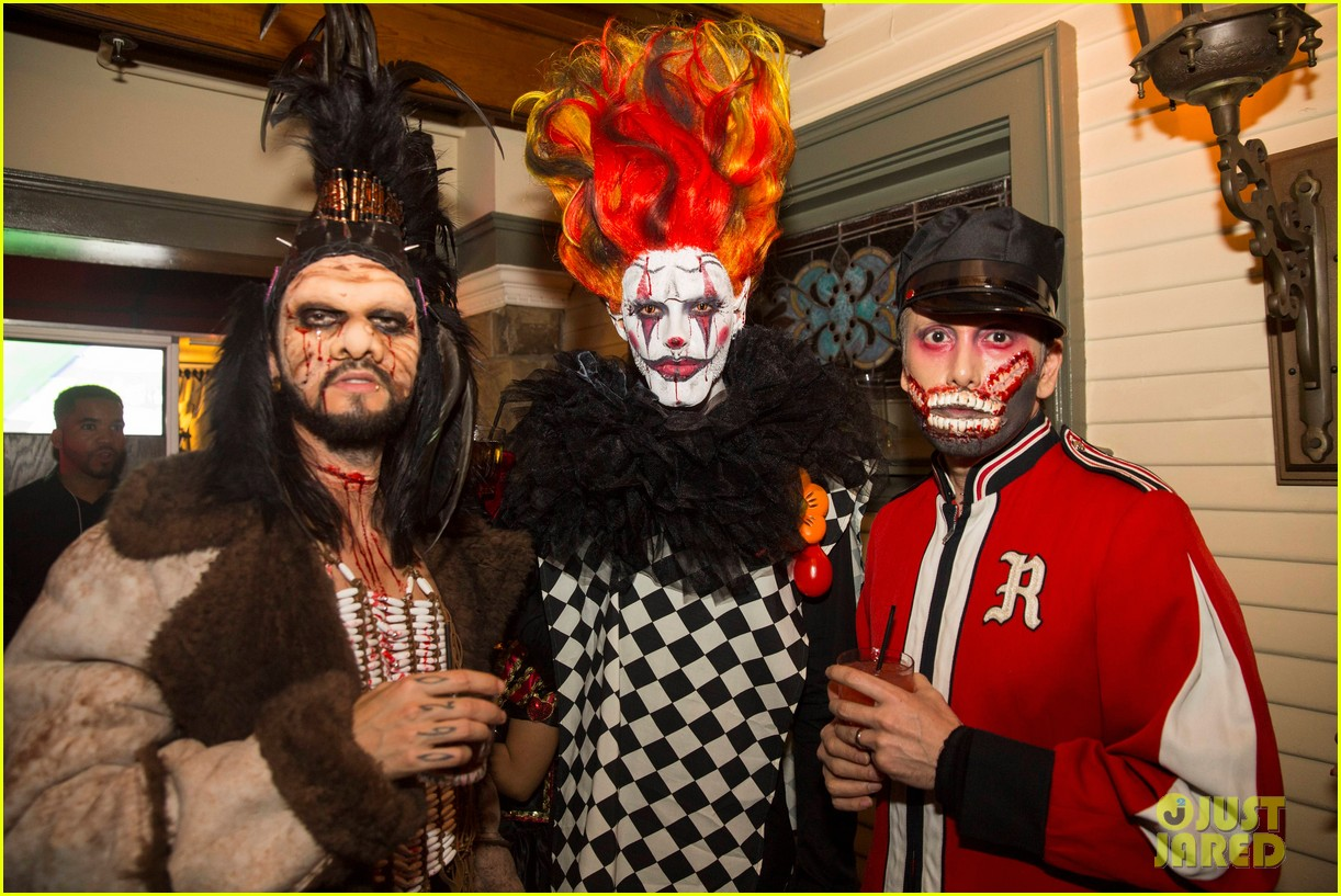 the vamps the wanted tokio hotel just jared halloween party 163233425
