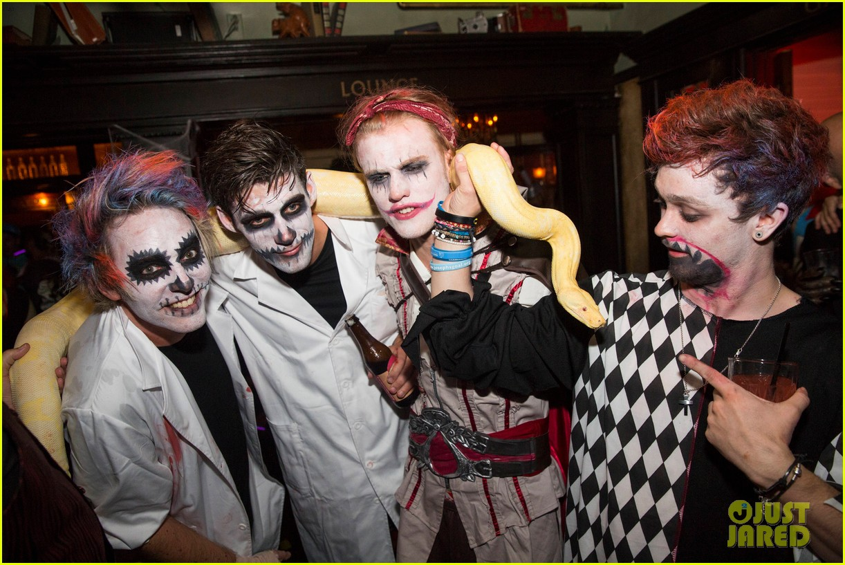the vamps the wanted tokio hotel just jared halloween party 183233427