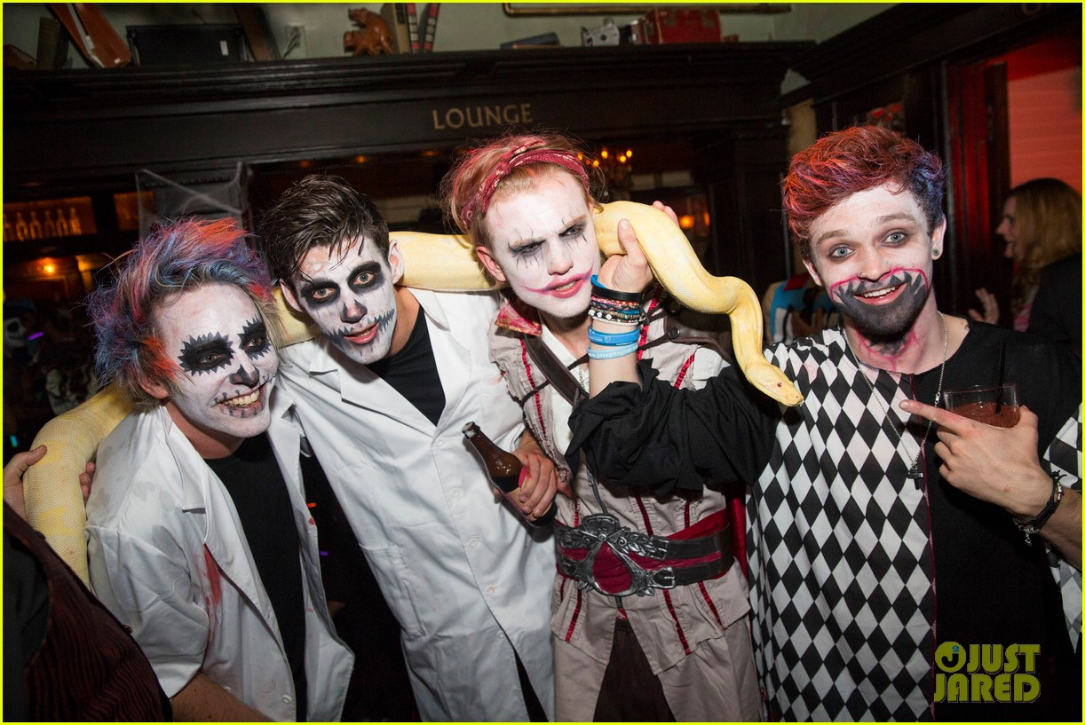 the vamps the wanted tokio hotel just jared halloween party 193233428
