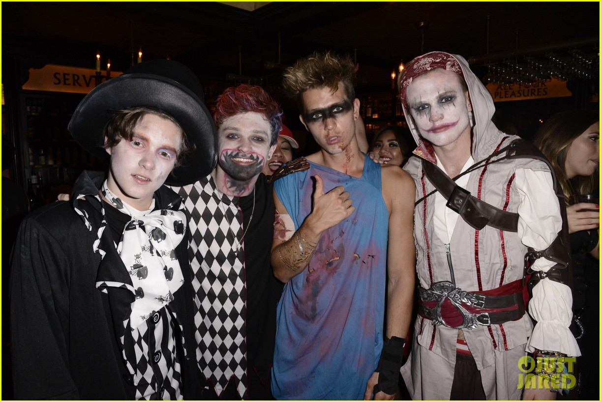 the vamps the wanted tokio hotel just jared halloween party 313233440