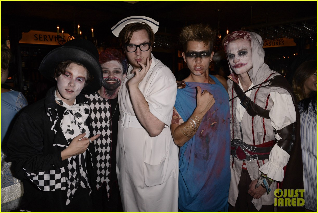 the vamps the wanted tokio hotel just jared halloween party 323233441