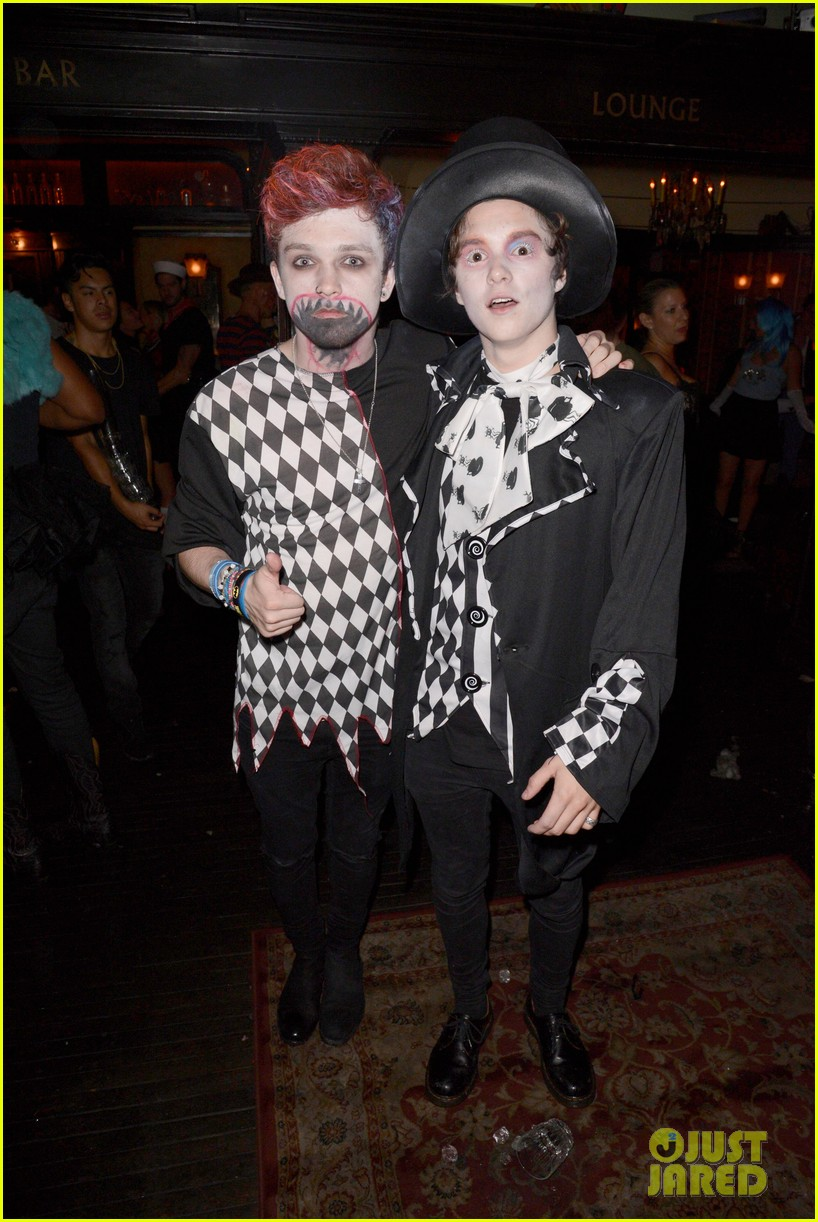 the vamps the wanted tokio hotel just jared halloween party 343233443