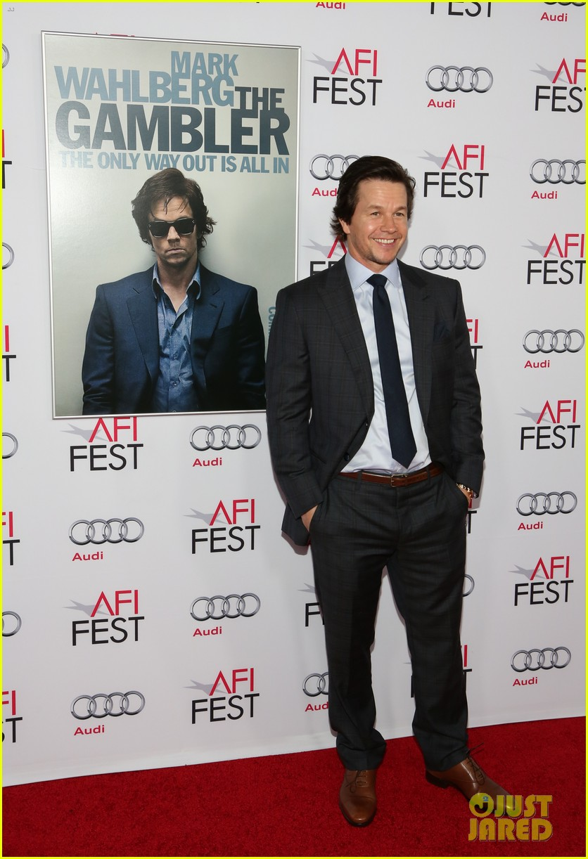 mark wahlberg gambler at the afi fest 133239628