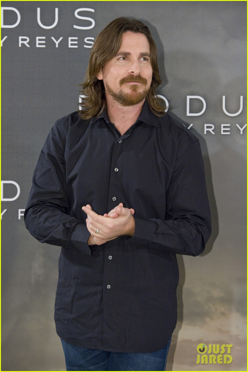 christian bale exodus gods kings photocalls 033255276