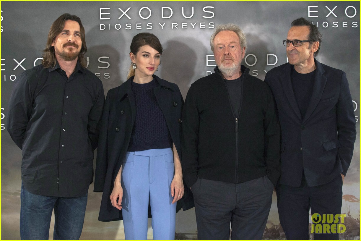 christian bale exodus gods kings photocalls 043255277