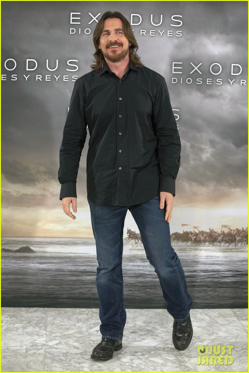 christian bale exodus gods kings photocalls 073255280