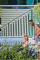 justin bieber goes shirtless at beverly hills mansion 29