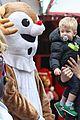 michael buble takes his son noah to a christmas theme park 26