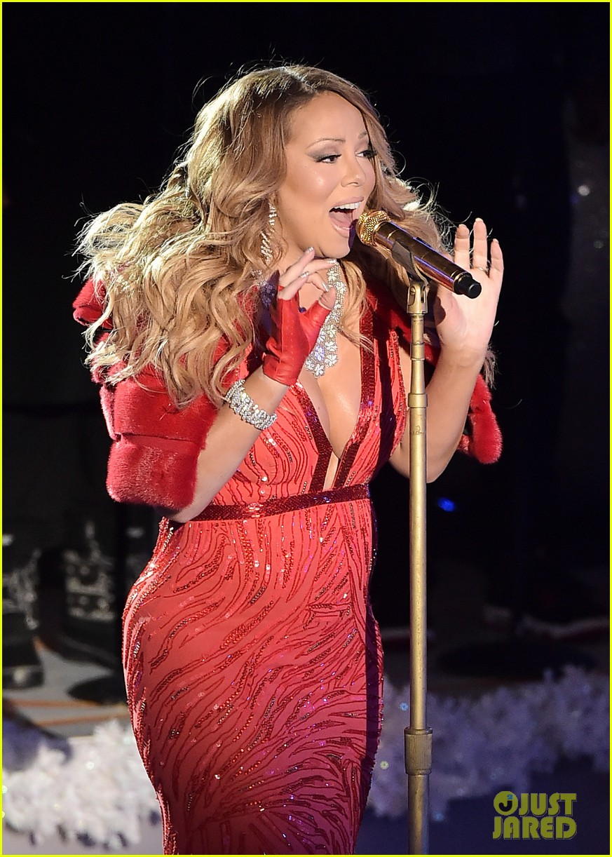 mariah carey sings all i want for christmas is you live at rockefeller center tree lighting video - Mariah Carey All I Want For Christmas Live