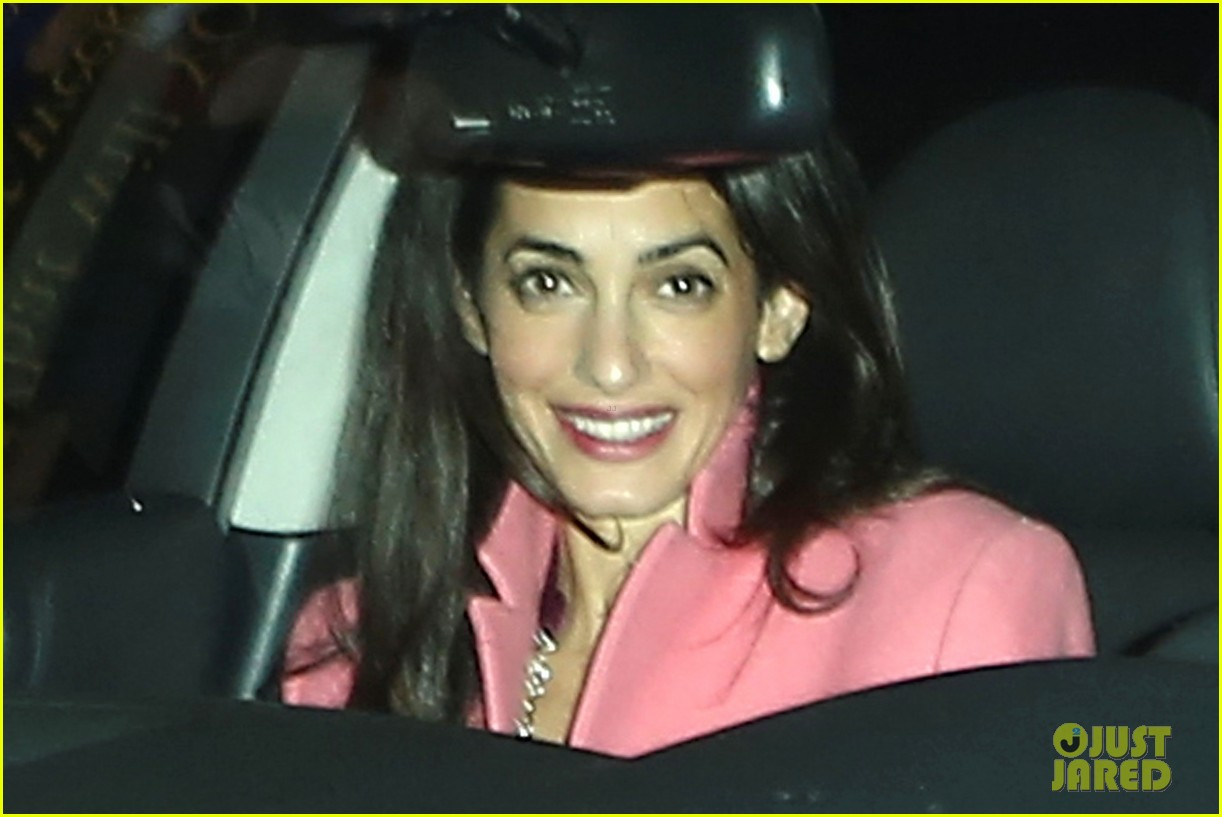 george clooney amal alamuddin make it a date night 023264749