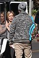 hilary meets up with mike comrie to exchange luca 14