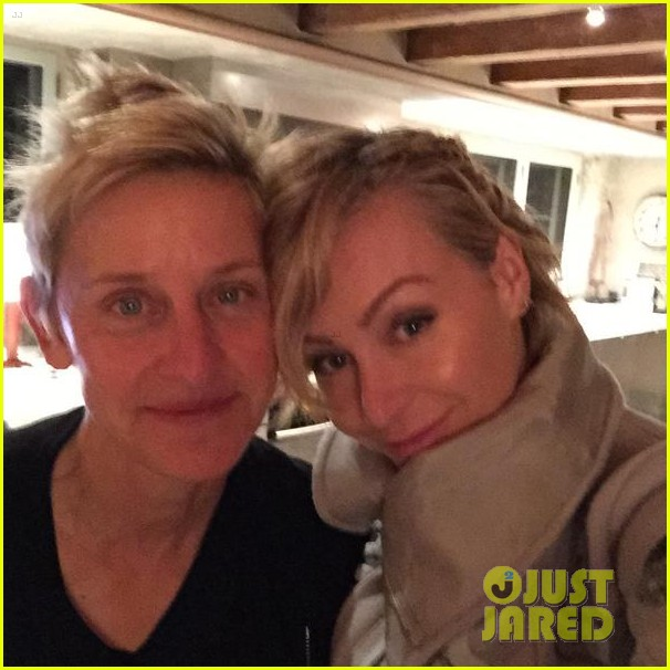 Portia De Rossi Pregnancy: Ellen DeGeneres & Portia De Rossi Celebrate 10 Year