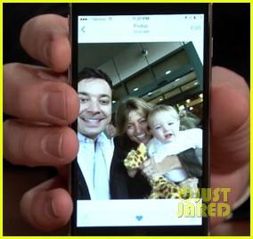 jimmy fallon debuts daughter frances cole fallon 023258019