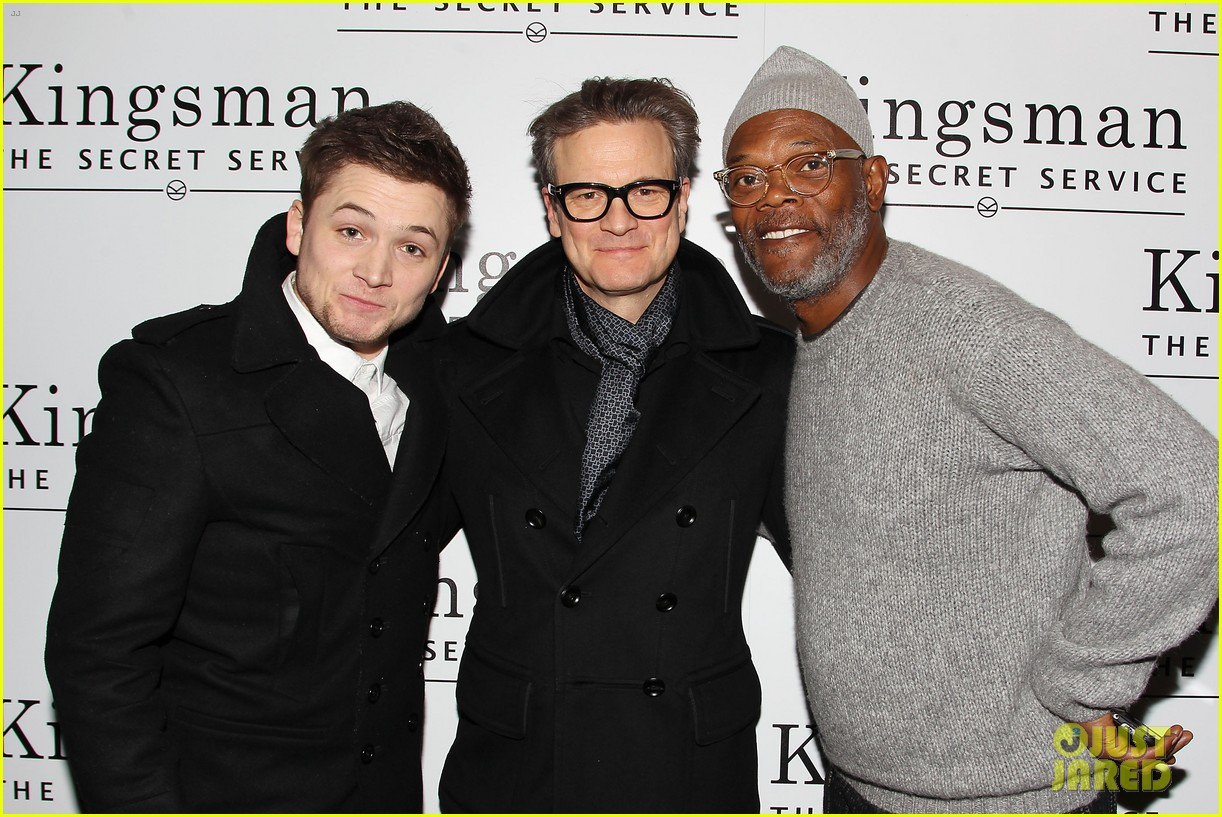 Exclusive Colin Firth Taron Egerton And Sophie Cookson: Colin Firth Tries To Save The World In 'Kingsman' Red Band
