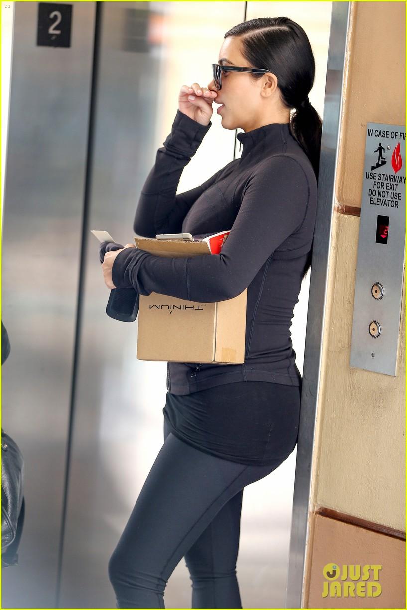 Kim Kardashian Flat Butt 15