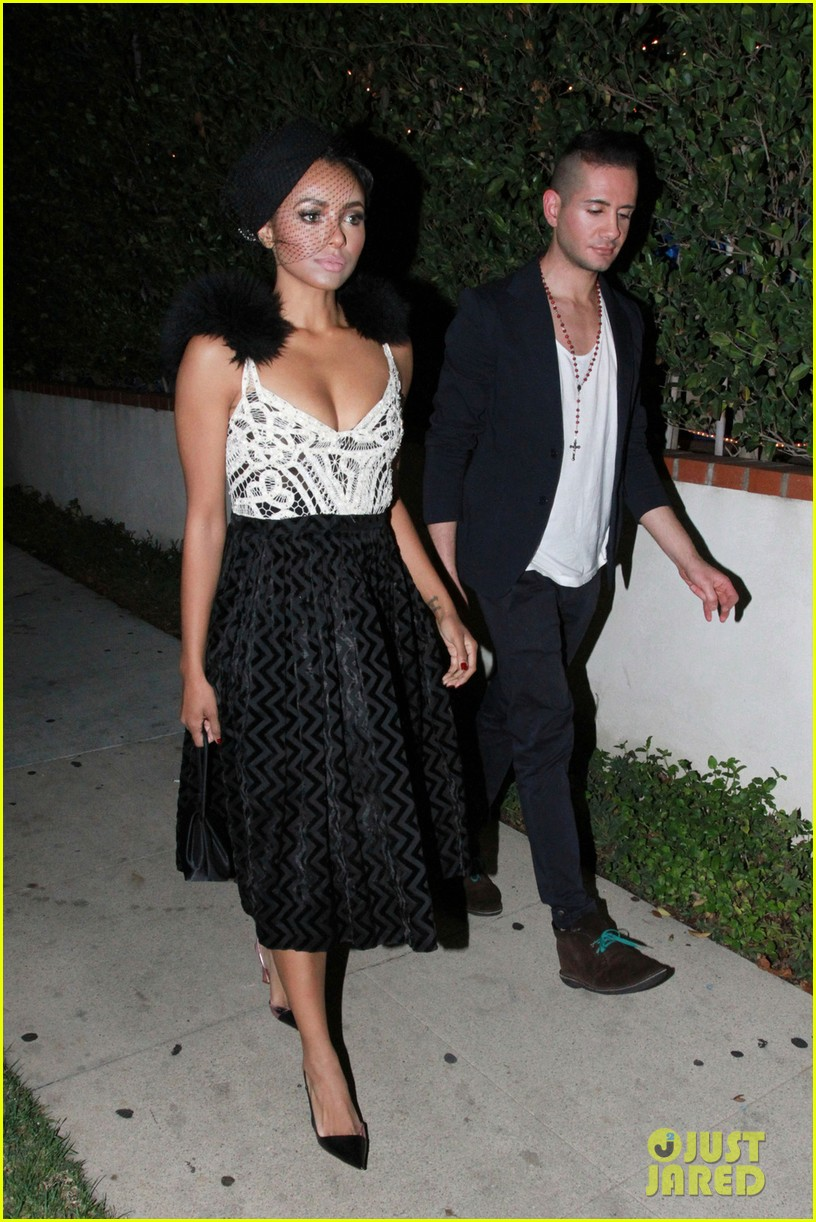 from Anderson kat graham and her boyfriend