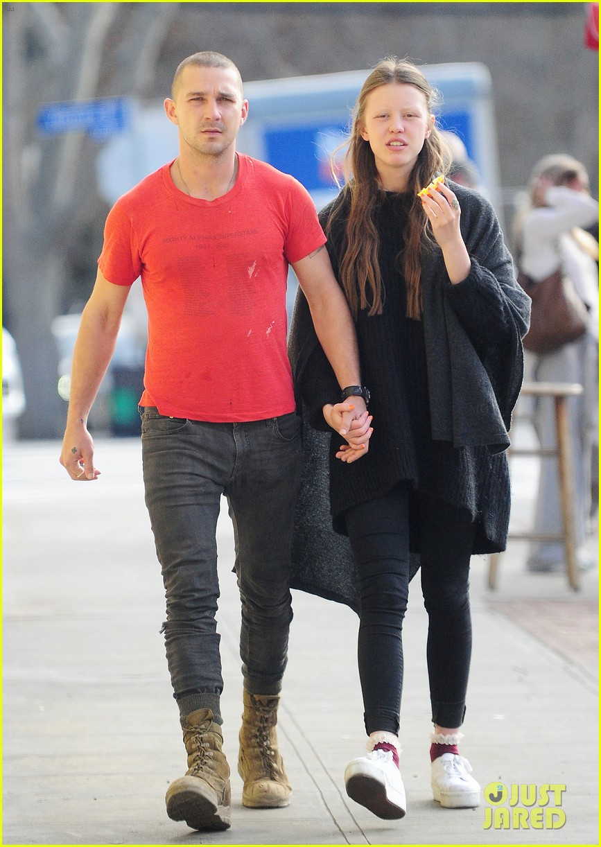 Shia LaBeouf & Girlfriend Walk Hand in Hand to Lunch ...