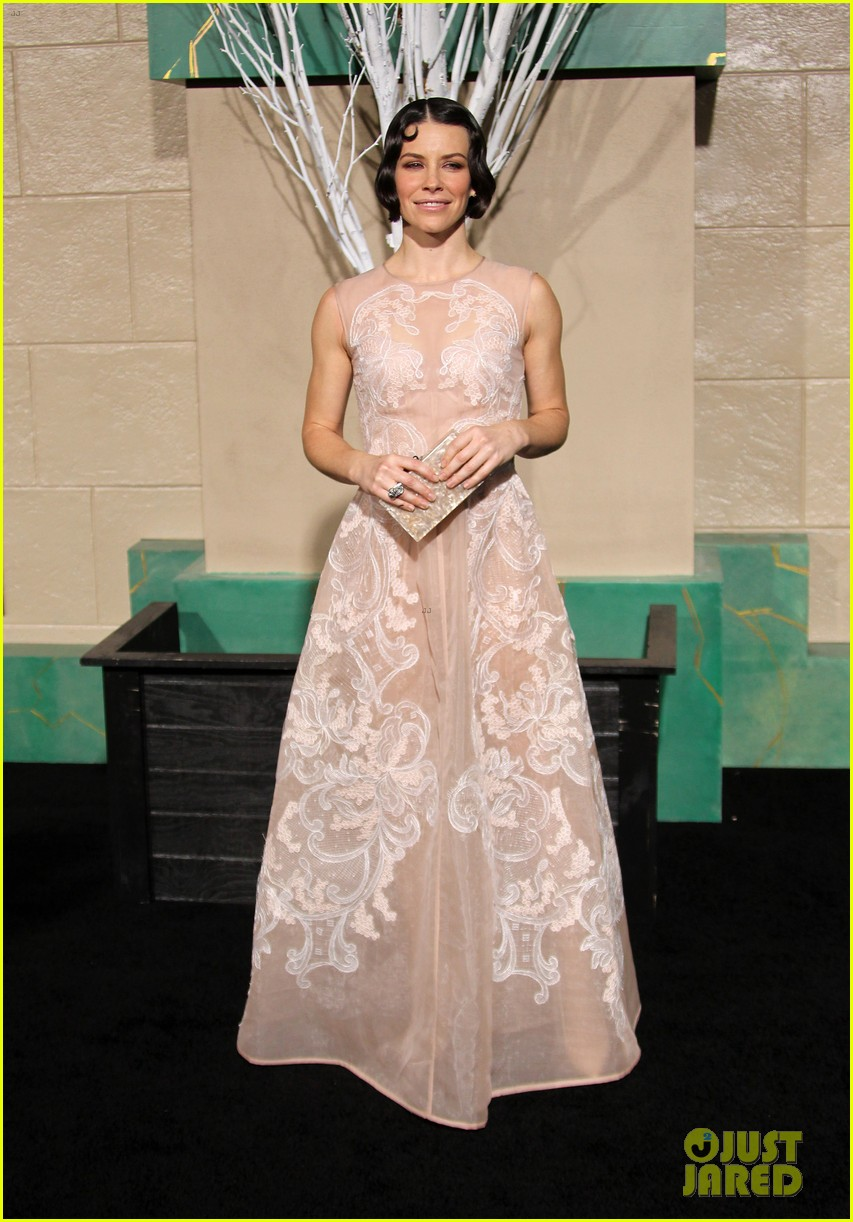 evangeline lilly lee pace hobbit los angeles premiere 053258777
