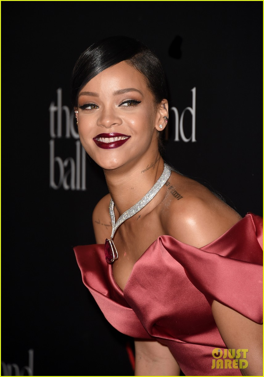 Rihanna Shines Bright At Her First Ever Diamond Ball 2014