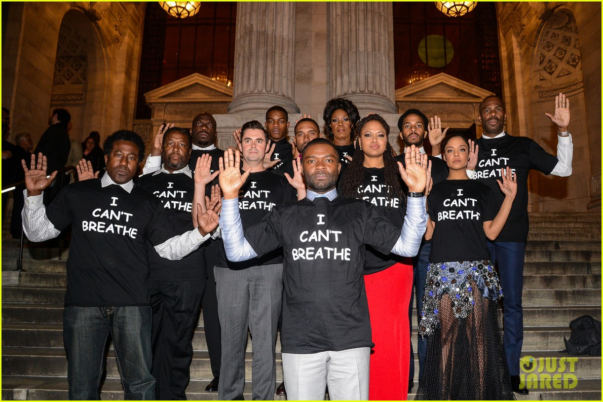 selma cast wears i cant breathe shirts at nyc premiere 033262430