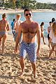 simon cowell flaunts chest hair barbados vacation 07