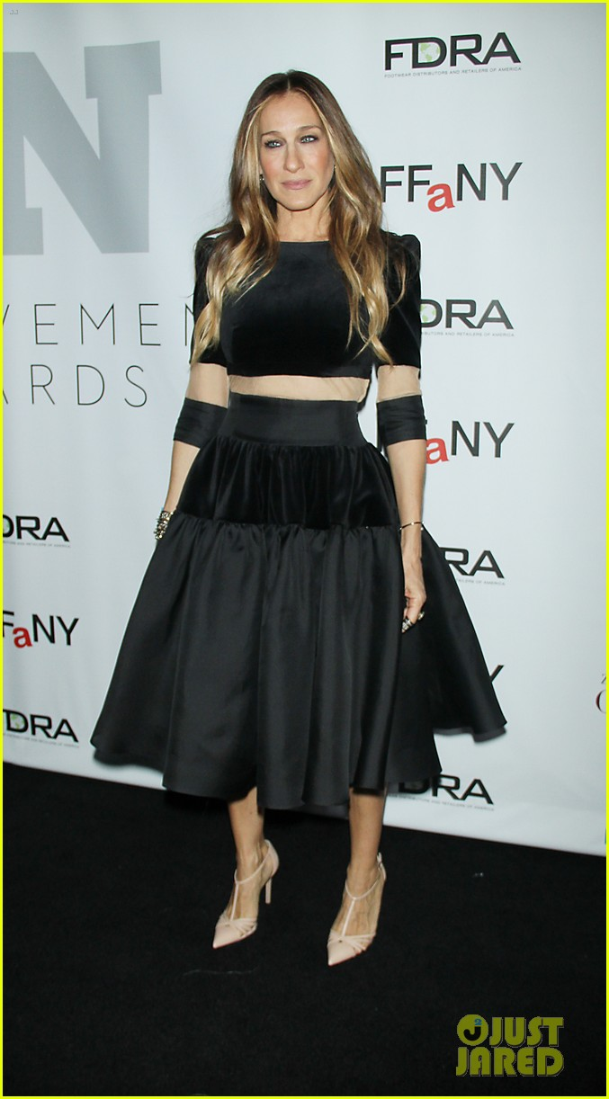 sarah jessica parker nicole richie fashion footwear association 013254889