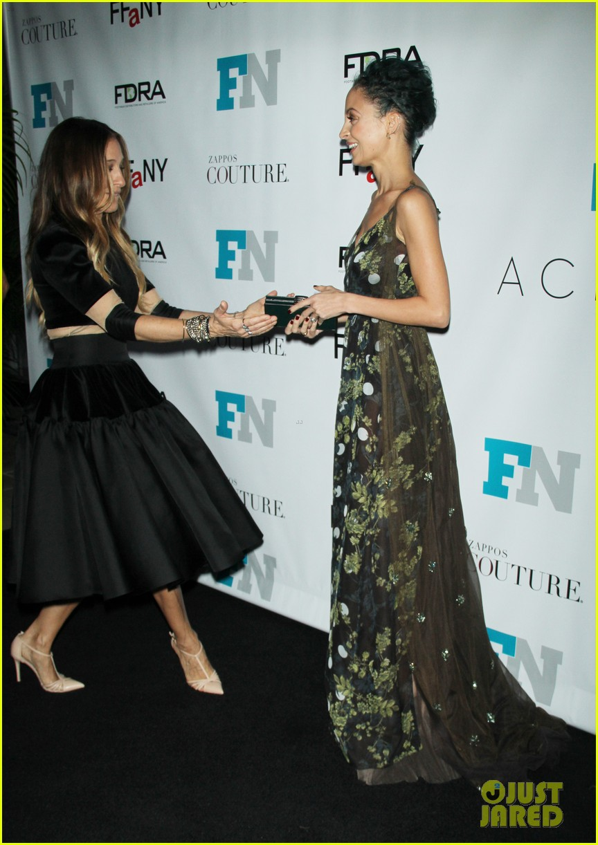 sarah jessica parker nicole richie fashion footwear association 103254898